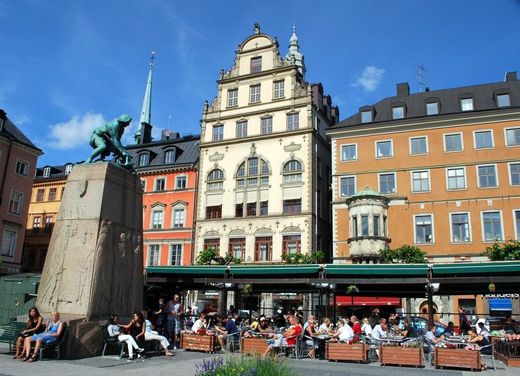 Välkommen till gamla stan och Kornhamnstorg!