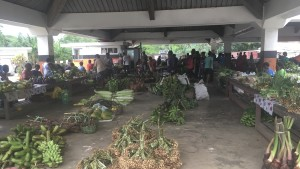 Produce for sale Luganville market – Version 2