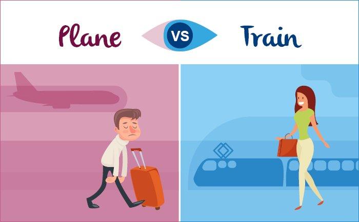 train v plane